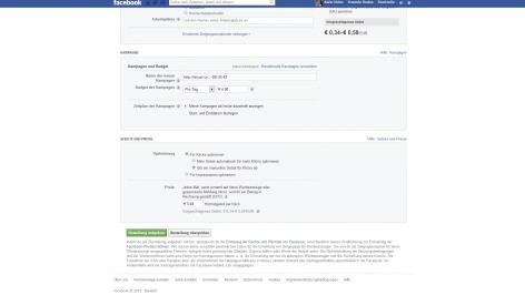 Facebook-Anzeige erstellen